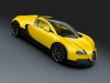 Bugatti Veyron Grand Sport Yellow Black Carbon