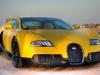 Bugatti Veyron Grand Sport Yellow Black Carbon at Qatar Motor Show 2012