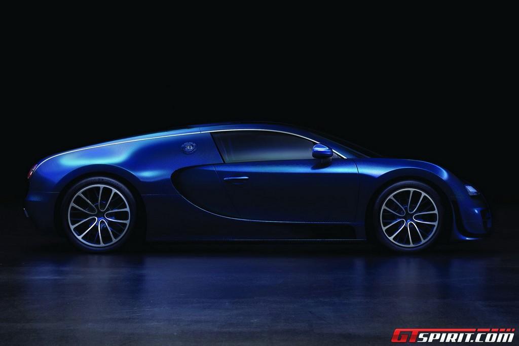 Bugatti Veyron Super Sport Blue Carbon Photo 2
