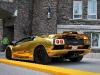 Gold chrome Lamborghini Diablo