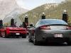 Aston Martin V8 Vantage and Lamborghini Gallardo LP560-4 Spyder