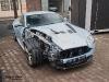 Car Crash Aston Martin V12 Vantage Wrecked in Czech Republic