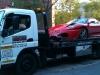 Car Crash Ferrari F430 Spider in Montreal