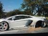 Car Crash Lamborghini Aventador LP700-4 Wrecked in Czech Republic