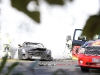 Car Crash Mercedes-Benz SLS AMG Black Series Mule Crashes at the Nurburgring
