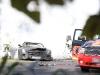 Car Crash Mercedes-Benz SLS AMG Black Series Mule Crashes at the Nurburgring