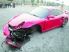 Car Crash Porsche Turbo & BMW M3 after Streetrace in China