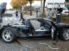 Car Crash 2005 Ford GT Wrecked in Seoul Korea