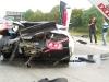 Car Crash BMW M5 Crashes into Lamborghini Murcielago