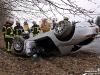 Car Crash BMW Z8 Flips Upside Down in Germany