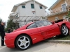 Car Crash Ferrari 355 GTS Crashed in Croatia