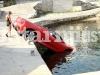 Car Crash Ferrari 360 Spider Tries to Swim in Croatia