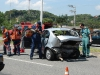 Car Crash Nissan GT-R Hits the Rear of VW Polo in Brazil