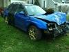 Car Crash Subaru Impreza STI in Montreal Area