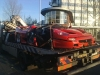 Car Crashes: Ferrari F50 Crashed in Holland