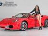 Ferrari 430 Spyder & Jenna