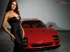 Cars & Girls: Ferrari F40 & Hope