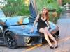 Cars & Girls Lamborghini Aventador & Mia