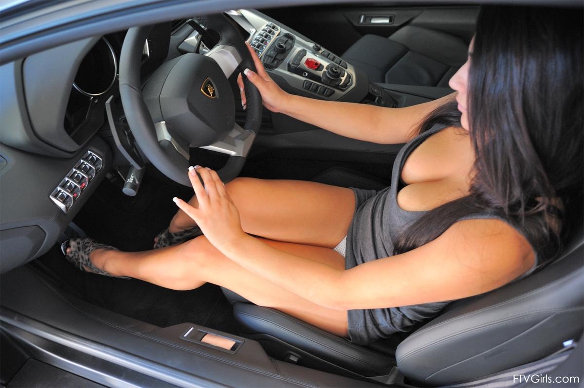 Cars Amp Girls Lamborghini Aventador Amp Sharon Mi Auto