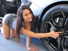 Cars & Girls: Lamborghini Aventador & Sharon