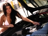 Cars & Girls Black Lamborghini Murcielago LP640 & Romanian Model