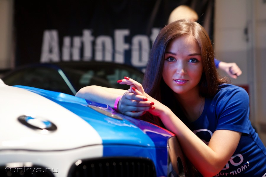 Cars & Girls Random Girls and Cars at Russian Car Event