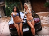 Cars & Girls Veronica Popa, Bryana Holly, 430 Scuderia and Continental GT