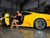Cars & Girls Yellow Supercars and Models