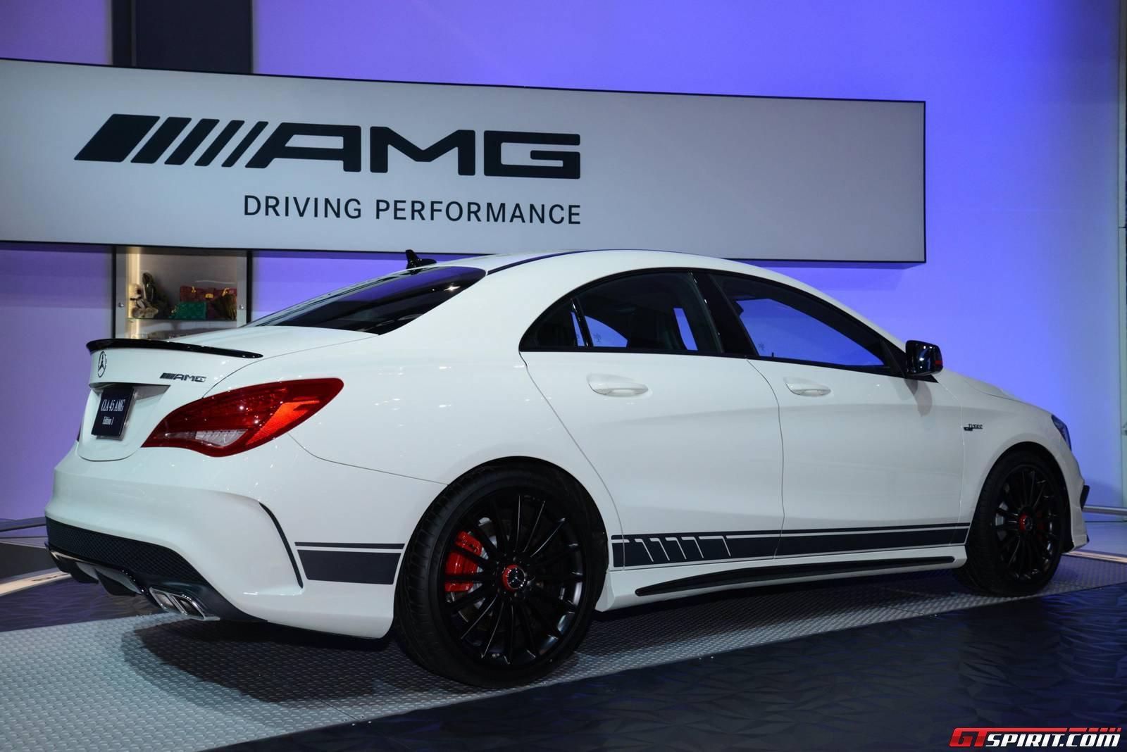 Chicago Auto Show 2014 Mercedes CLA 45 AMG