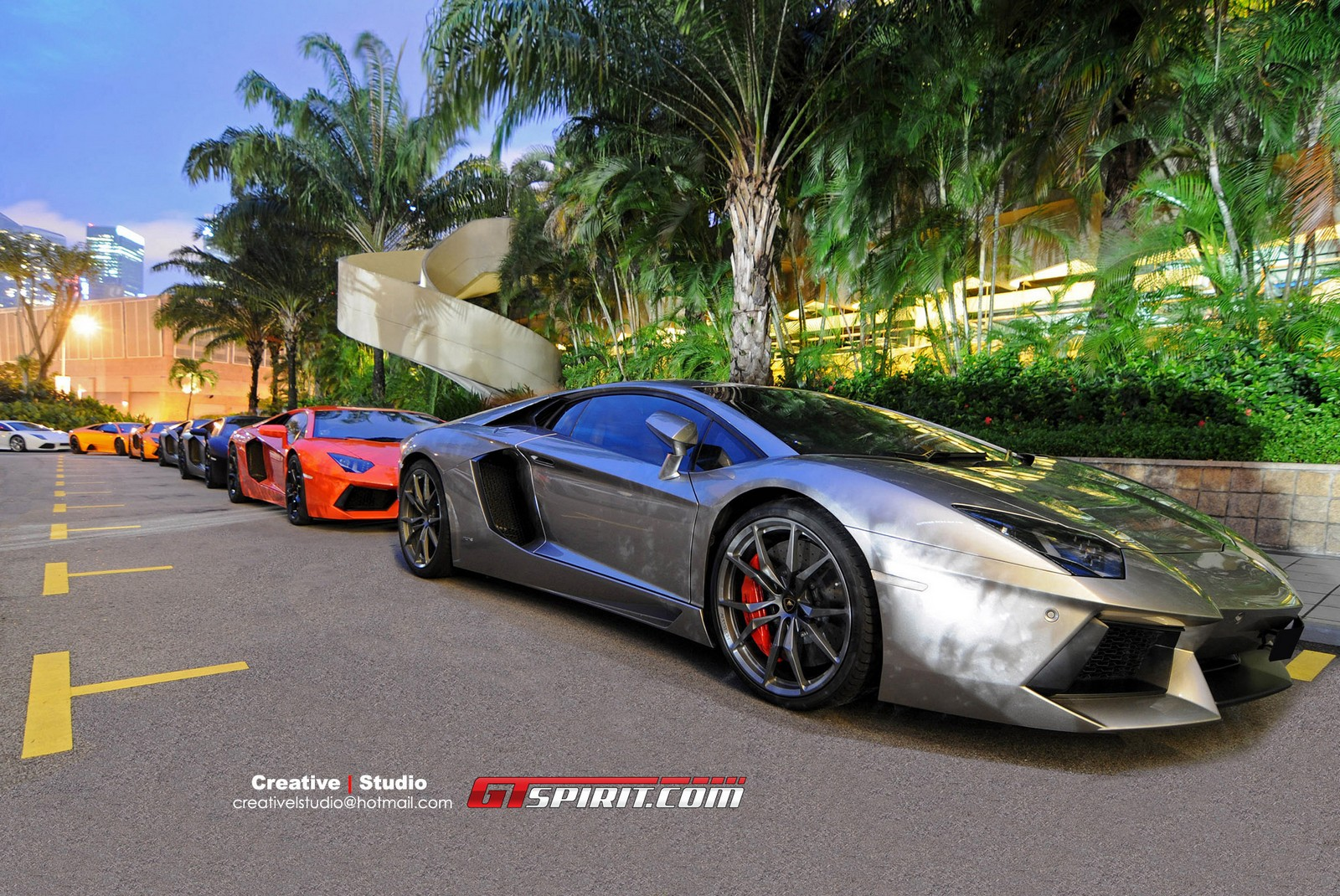 gallery chinese new year s eve lamborghini gathering in singapore. Black Bedroom Furniture Sets. Home Design Ideas