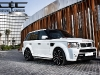 Chrome and Carbon Range Rover Project