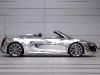 Chromed Audi R8 V10 Spyder for Charity