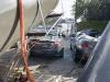 Crane Falls on Jaguar XKR-S
