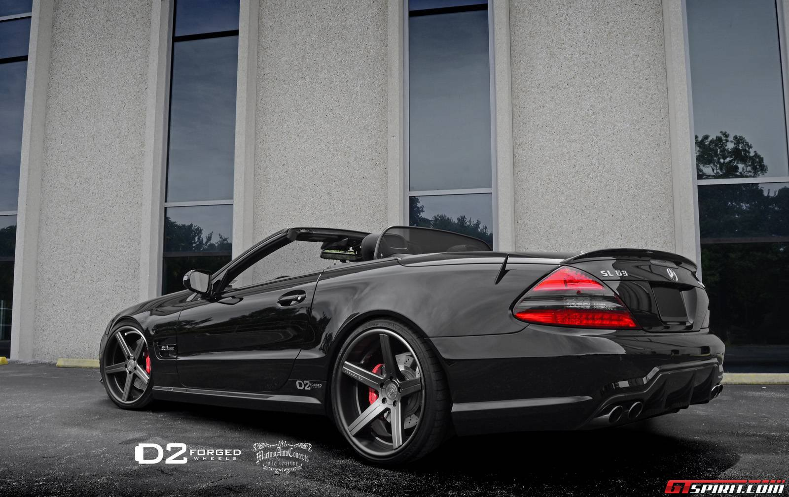 2013 martino auto concepts mercedes sl63 amg dark cars. Black Bedroom Furniture Sets. Home Design Ideas