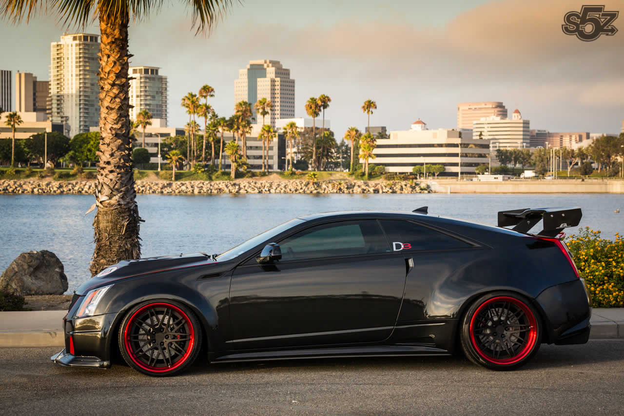 Official Cadillac Cts V Coupe By D3 Cadillac