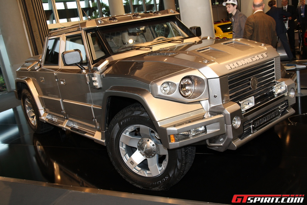Gas Mileage For A Hummer >> Dartz Kombat T98 Russian-made Luxury SUV - Experience DeLux : Your luxury digest blog