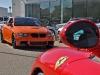 Ferrari and BMW staring contest