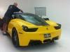 DMC Plans Release 458 Italia Milano at SEMA 2011