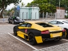 Wrapped Lamborghini Murcielago LP-640s in Hong Kong