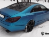 Electric Blue Brabus Mercedes-Benz CLS by WrapStyle