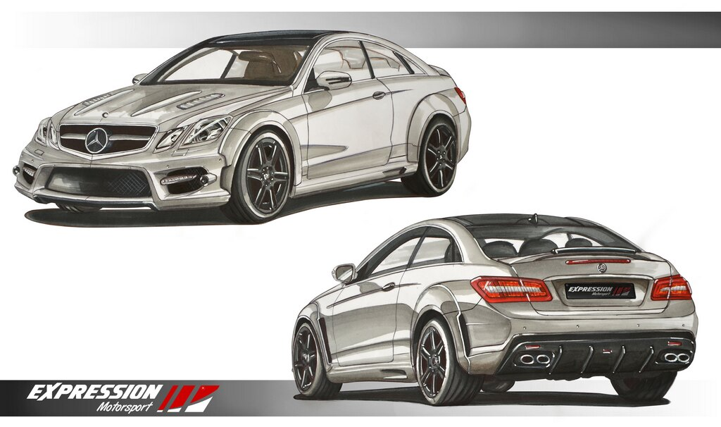 Expression wide body coupe kit forums - Mercedes c class coupe body kit ...