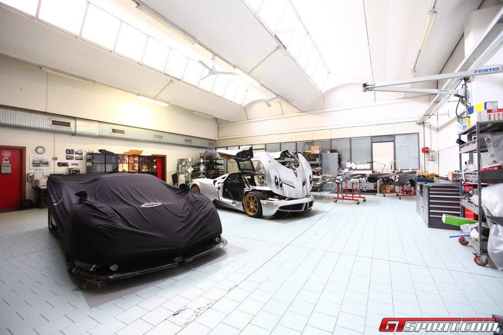 GTspirit Factory Visit: Pagani Automobili Headquarters - Epic lineup