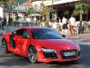 Ferdinand Piech and Wife Driving New 2013 Audi R8 V10 Plus