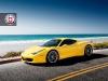 Ferrari 458 Italia on Satin Charcoal S01 HRE Wheels