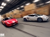 Ferrari 599 GTB HGTE & Lamborghini Gallardo