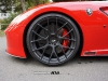 Ferrari 599 GTO on ADV7.1 SL wheels