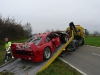 Ferrari F40 Accident