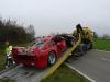Ferrari F40 Accident