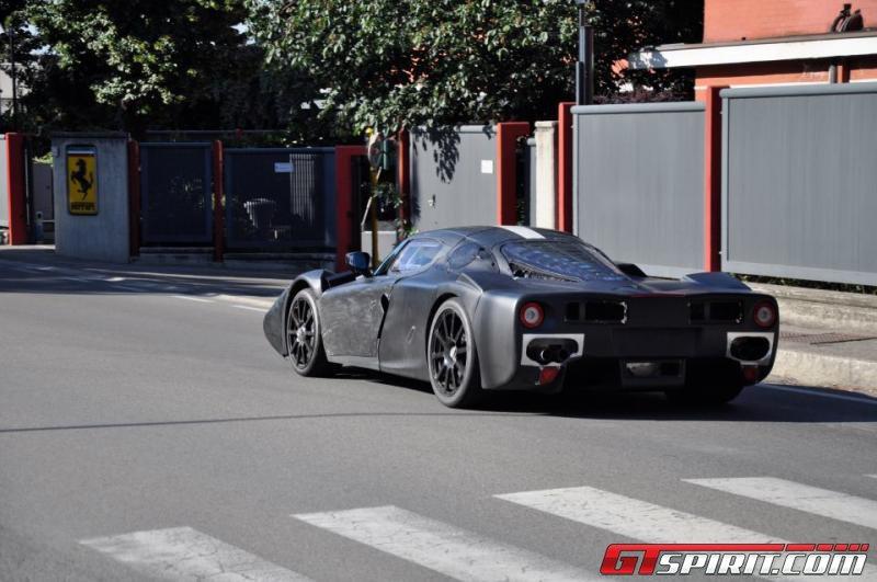 Ferrari F70 Test Mule Spotted in Maranello Photo 1