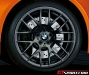 Fire Orange BMW M3 Competition for Japan